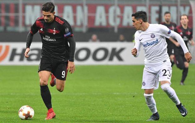 Europa League, Milan-Austria Vienna (foto Ansa)