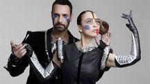Raoul Bova e Chiara Francini, protagonisti di 'Due'
