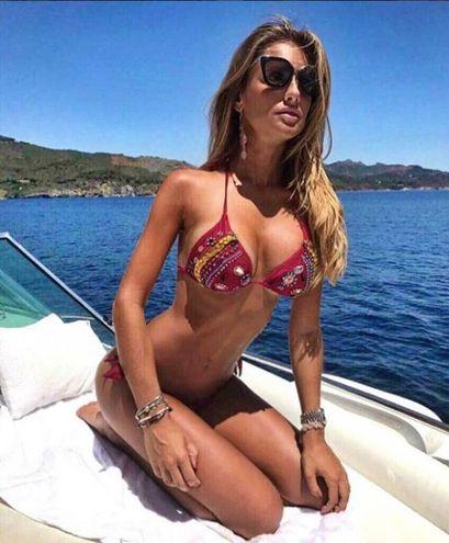 Michela Persico, fidanzata con il difensore della Juventus Daniele Rugani