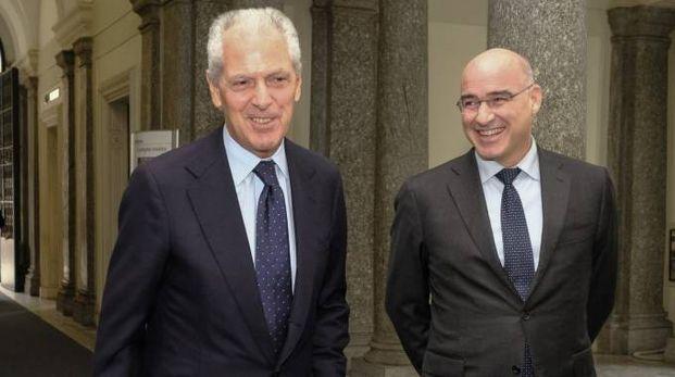Marco Tronchetti Provera e Ferruccio Resta (Newpress)