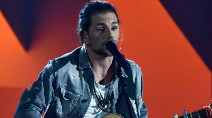 Enrico Nigiotti sul palco