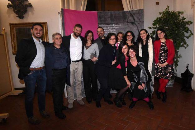 Lo staff che ha organizzato la mostra (foto Schicchi)