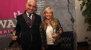 La regista Cinzia TH Torrini assieme ad Alì Barada (foto Schicchi)