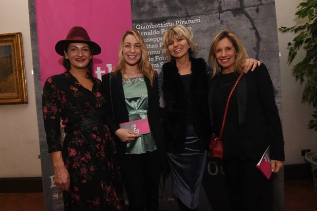 Eugenia Ronaldi, Benedetta Brusati, Trilli Zambonelli e Rossella Barbaro (foto Schicchi)
