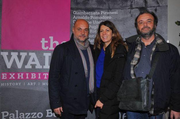 Alessandro Finelli, Rosanna Leonardi e Andrea Pierazzini  (foto Schicchi)