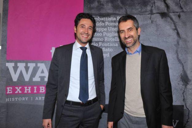 Giorgio Zodiaco e Marco Battistini  (foto Schicchi)