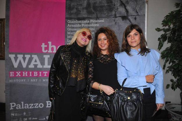 Alessandra D'Amata, Margherita Sonagliolini e Maria Victoria Breitfeld  (foto Schicchi)