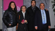 Antonio Monti con la famiglia  (foto Schicchi)