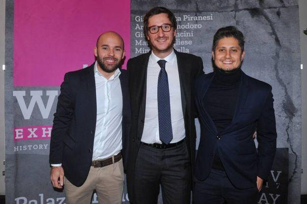 Lorenzo Rossi, Giuseppe Pucci e Alessandro Rosina  (foto Schicchi)