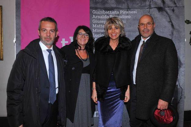 Massimiliano Pardi, Marilena Francesconi, Trilli Zambonelli e Giacomo Della Villa  (foto Schicchi)