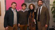 Guglielmo e Livia Garagnani, Carlo Auersperg, Pietro Marcello  (foto Schicchi)