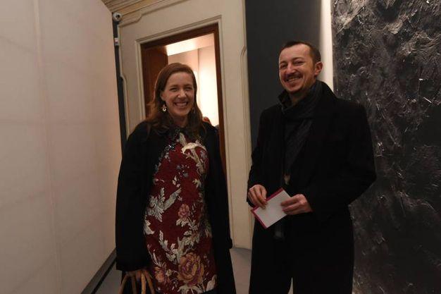 Sara Riffeser Monti e Antonio Mazzotti  (foto Schicchi)