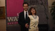 Pier Luigi Masini con la moglie  (foto Schicchi)