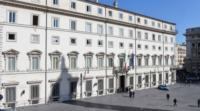 Palazzo Chigi, sede del governo (ImagoEc)