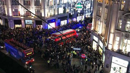 Londra, panico a Oxford Circus (LaPresse)