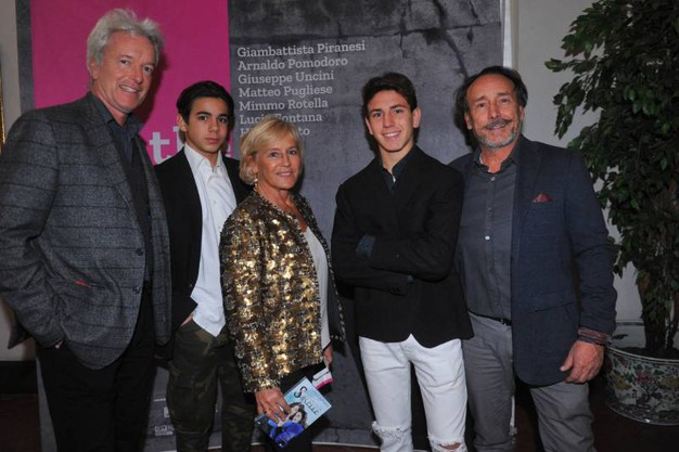 La regista Cinzia TH Torrini assieme a Ralph Palka e Curzio Torrini (foto Schicchi)
