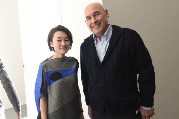 Andrea Riffeser Monti e Hitomi Sato (foto Schicchi)