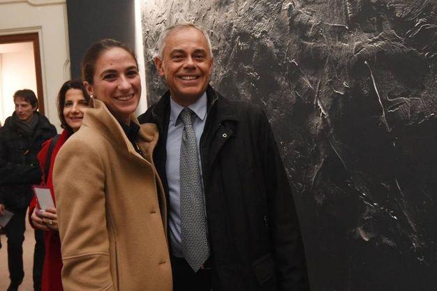 Giancarlo Tonelli, direttore di Ascom, con Silvia Di Vincenzo (foto Schicchi)