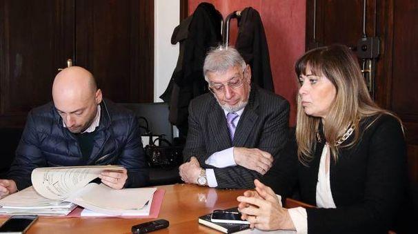 Una seduta della commissione partecipate