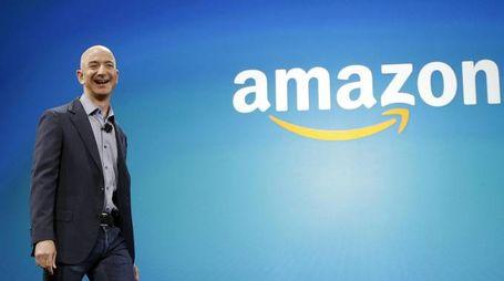 Jeff Bezos, fondatore di Amazon (Ansa)