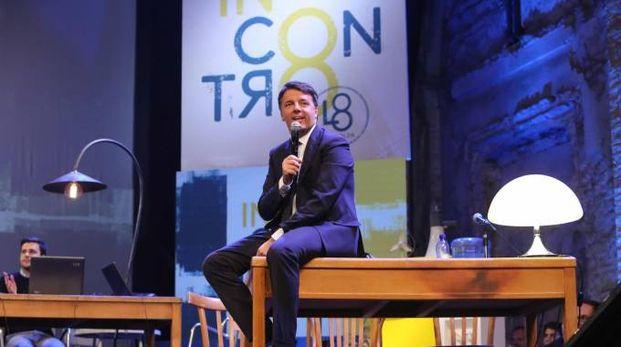 Matteo Renzi apre la Leopolda 8 (New Press Photo-Marco Mori)