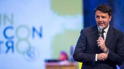 Matteo Renzi alla Leopolda (Imagoeconomica)