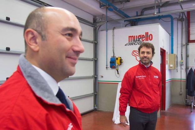 Filippo Ricci col fratello Niccolò Ricci