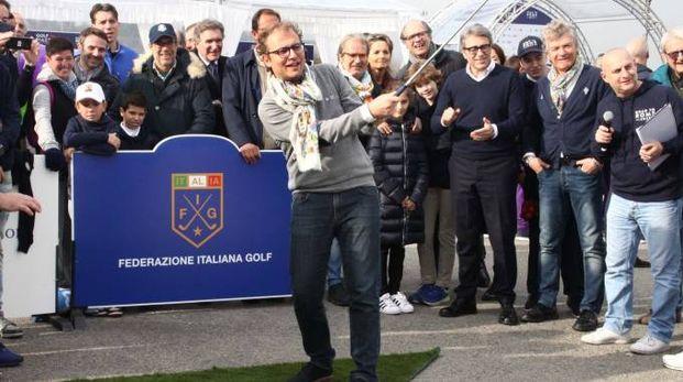 Il ministro dello Sport Luca Lotti (Umberto Visintini / New Press Photo)
