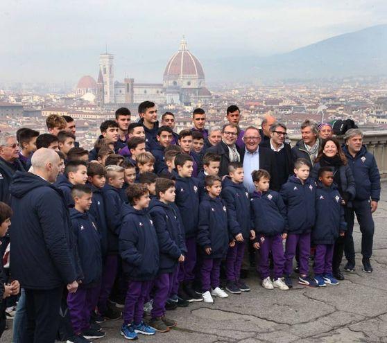 Golf al Piazzale Michelangelo (New Pressphoto)