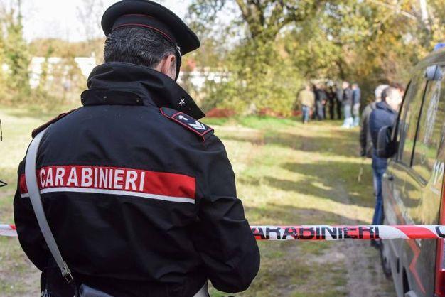 I carabinieri sul posto, foto De Marco