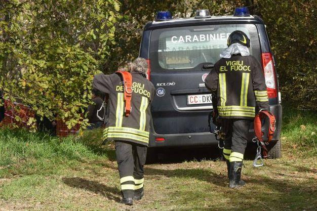 Sul posto anche i vigili del fuoco, foto De Marco