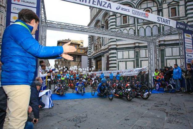 Un momento della Firenze Marathon 2017 (Fotocronache Germogli)