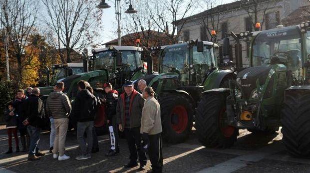 La festa con la benedizione della macchine agricole a Inzago