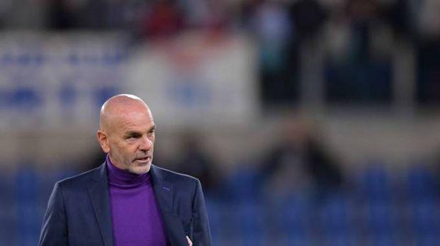 L'allenatore della Fiorentina, Stefano Pioli (LaPresse)