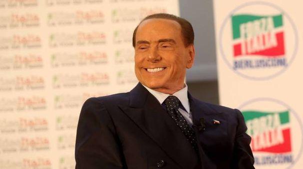 Silvio Berlusconi alla convention di Forza Italia (Lapresse)