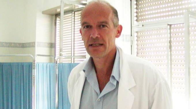 Gregorio Del Boca, primario di Ginecologia dell'ospedale di Merate (Cardini)