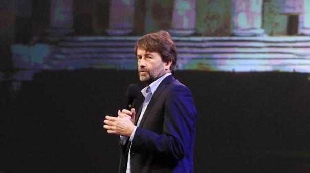 Il ministro dei beni culturali, Dario Franceschini