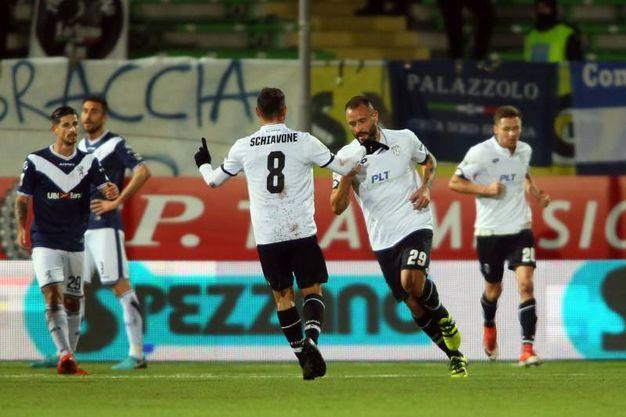 Festeggiamenti per il gol (Foto LaPresse)