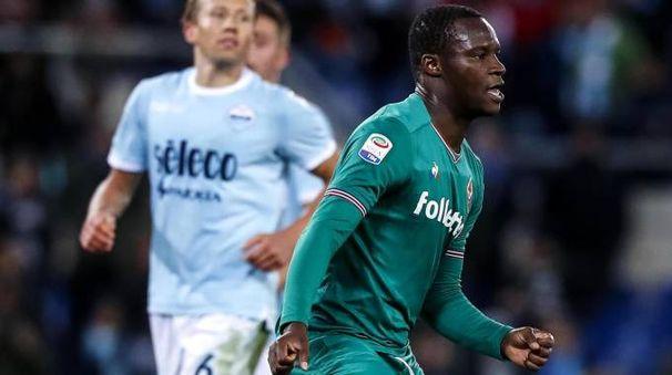 Babacar esulta dopo il rigore decisivo contro la Lazio