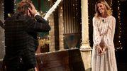 La proposta di matrimonio di Daniele Bossari a Filippa Lagerback