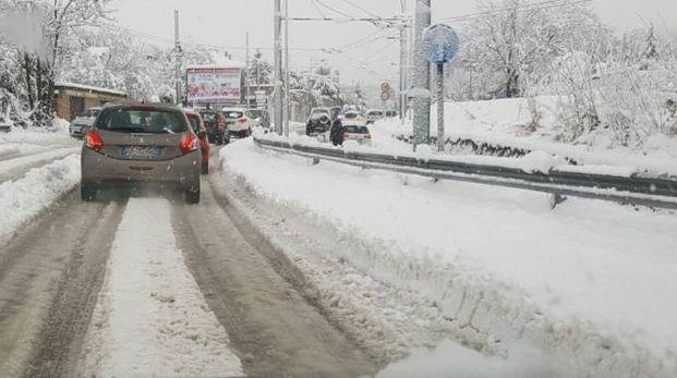 Previsioni meteo, confermata la neve al Nord tra venerdì e sabato (foto Ansa)