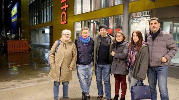 I colleghi e i sindacalisti mobilitati (Spf)