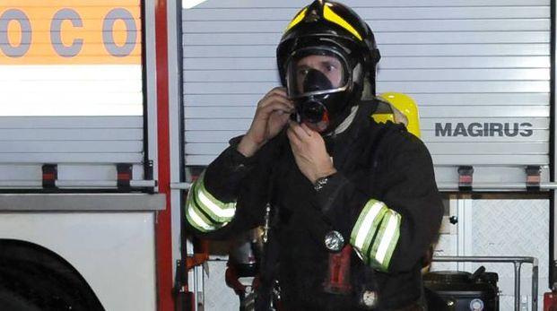 I vigili del fuoco erano intervenuti in pochi minuti Le condizioni dell'uomo non sembravano essere gravi