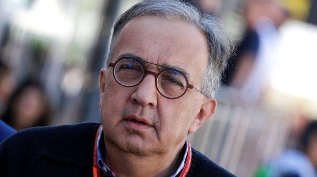 Sergio Marchionne, ad di Fca (Lapresse)