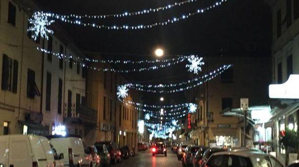 Luci di Natale a Borgo Giannotti