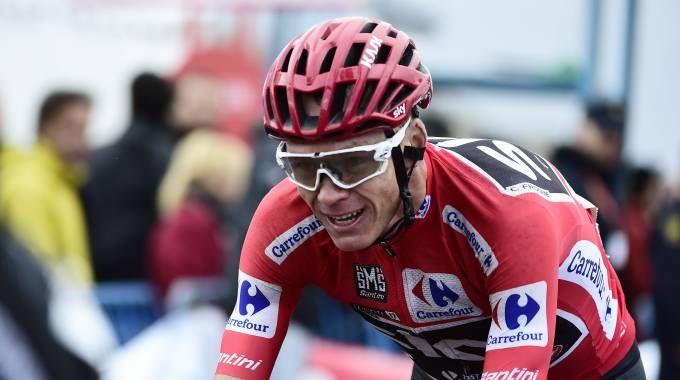Giro d'Italia 2018, presentazione e tappe. Ci sarà anche Chris Froome (foto Afp)