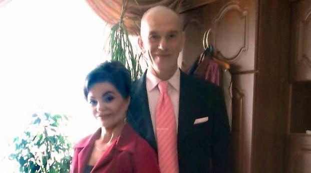 Svetlana Balica con il marito Nicola Pontiggia
