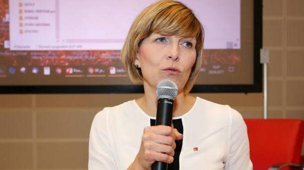Paola Galgani, segretario generale della Cgil di Firenze
