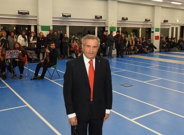 Il presidente della Federazione italiana di scherma, Giorgio Scarso (Foto Scardovi)