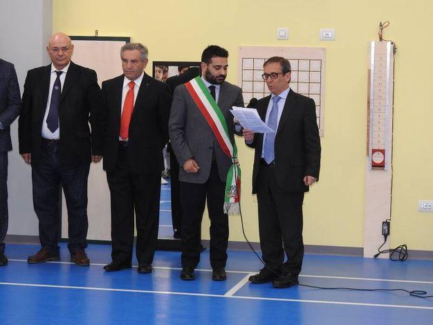 L'inaugurazione della nuova palestra (Foto Scardovi)